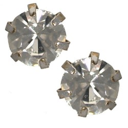Hope 6mm Crystal Stud Earrings