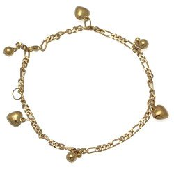 LABONI Gold Plated Ankle Chain