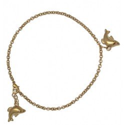 PARI Gold Plated Ankle Chain