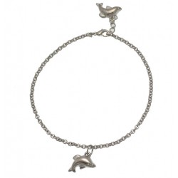 PARI Silver Plated Ankle Chain