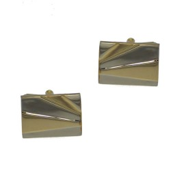 DEVLIN Gold and Silver tone Cufflinks