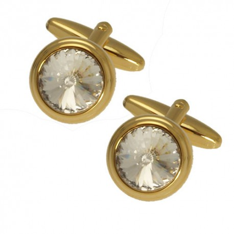 Matthew Gold tone Cufflinks