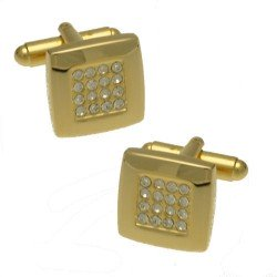 Barry Gold tone Cufflinks