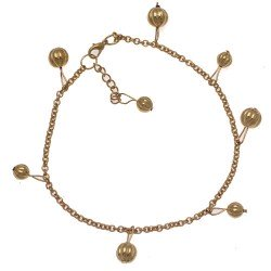 FIROZA Gold Plated Ankle Chain